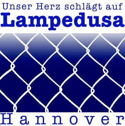 Logo AG Unser Herz schlägt auf Lampedusa