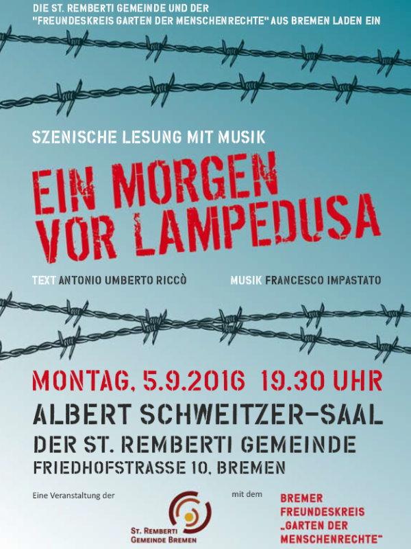 Lesung Bremen, 5.9.2016, 19.30 Uhr