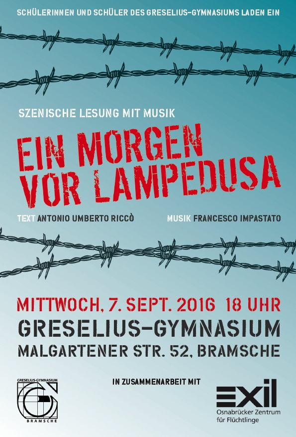 Lesung Bramsche, 7.9.2016, 18.00 Uhr