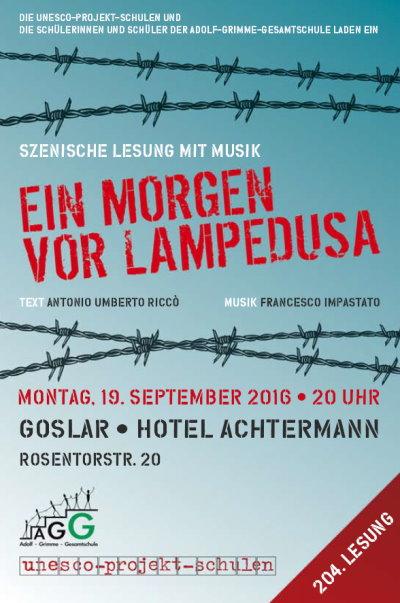 Lesung Goslar, 19.9.2016, 20.00 Uhr