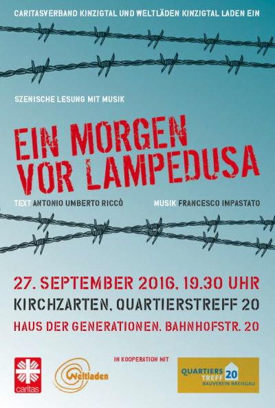 Lesung Kirchzarten, 27.9.2016, 19.30 Uhr