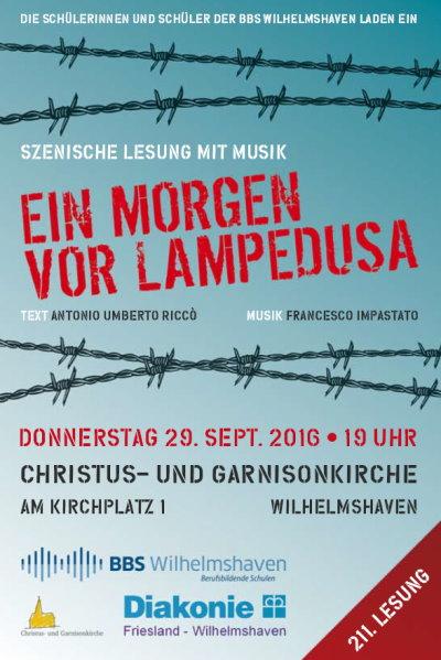 Lesung Wilhelmshaven, 29.9.2016, 19.00 Uhr